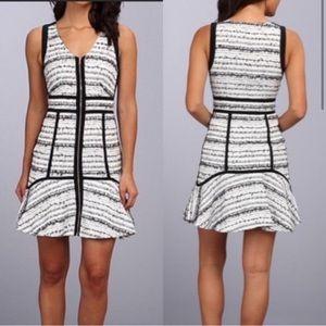 {Rebecca Taylor} tweed mini dress
